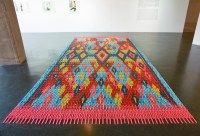Colorful Carpet Made From Thousands of Digital Watches by ...