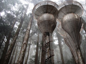 Antony Gibbon s Lord of the Rings Style Treehouses Could Offer Elvish Accommodations for Humans
