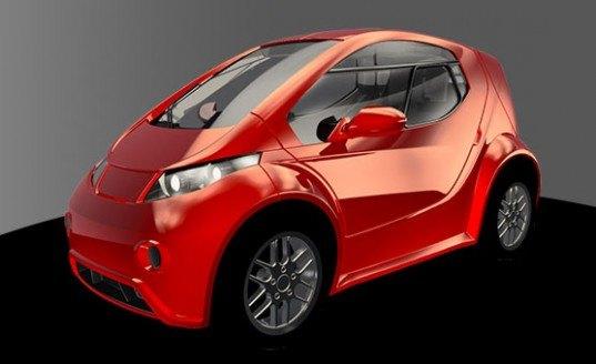 colibri electric car  Inhabitat  Green Design