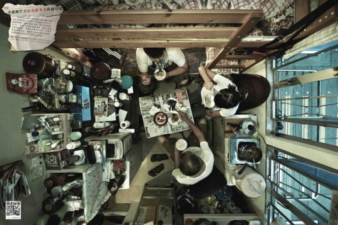 Hong Kong S Shocking 40 Square Foot Apartments Photographed By Chinese Human Rights Group