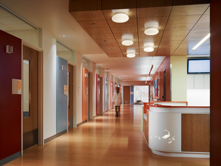 Randall Childrens Hospital designed by ZGF Architects
