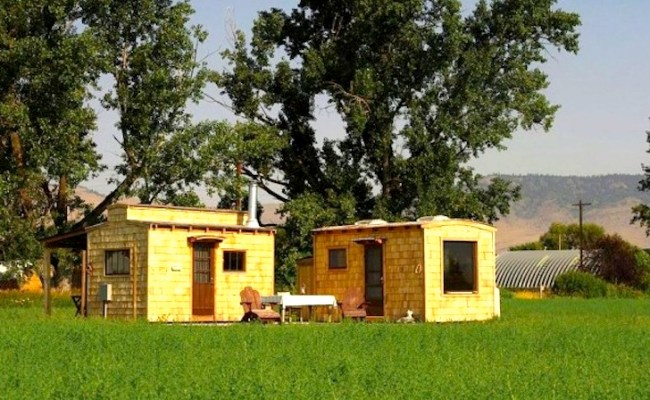 Wordsmith Charles Finn Builds Peaceful Microhomes From