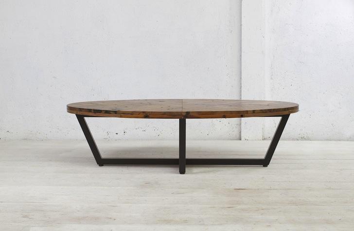 duke oval coffee table by aellon