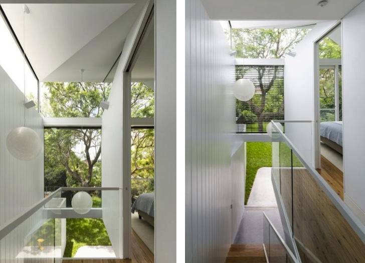 Christopher Polly Carves Vaulted Ceilings and Light Wells to Brighten the Cosgriff House in