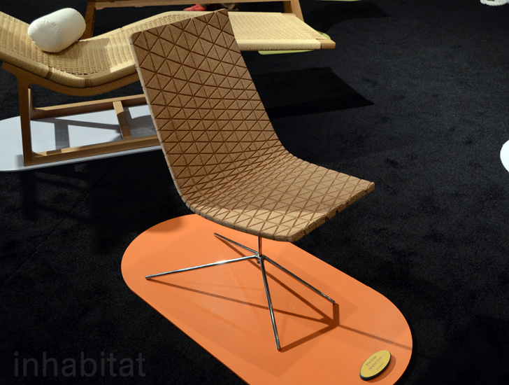 Erika Crosss Vertebral Cork Chair is Made From Recycled