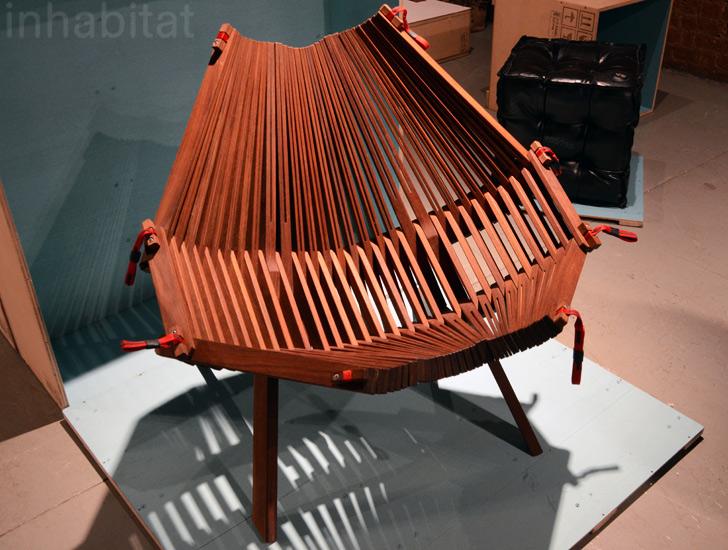 Squishy Sticks Chair By Annie Evelyn Of RISD « Inhabitat