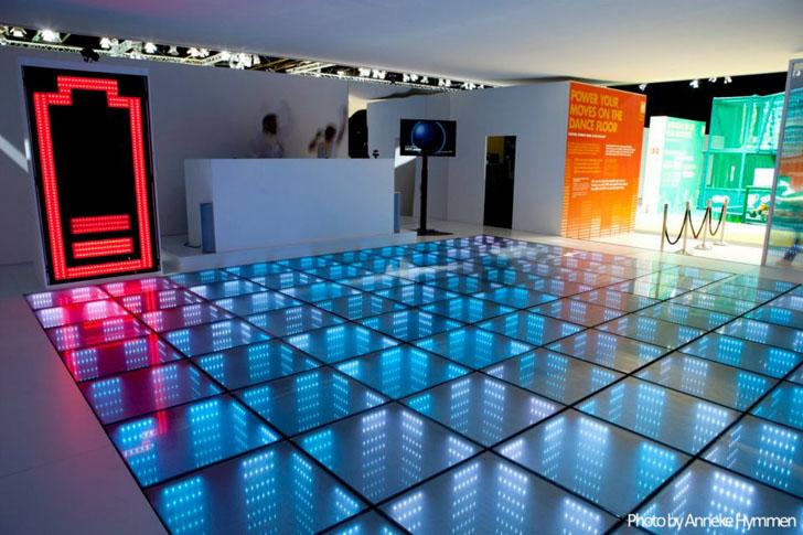 Kinetic Energy Floors Convert Sweet Dance Moves into