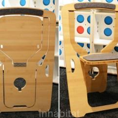 Folding Chair Green Step Ladder Monstrans Single Sheet Bamboo Folds Flat For Easy Storage Design