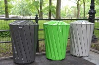 Custom-Made Designer Trash Bins Pop Up in NYC Parks ...