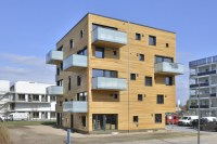 Woodcube: Carbon-Neutral Five-Story Wooden Apartment ...