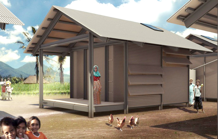 Recycled Plastic Nevhouses Provide Cheap Housing And Divert Waste