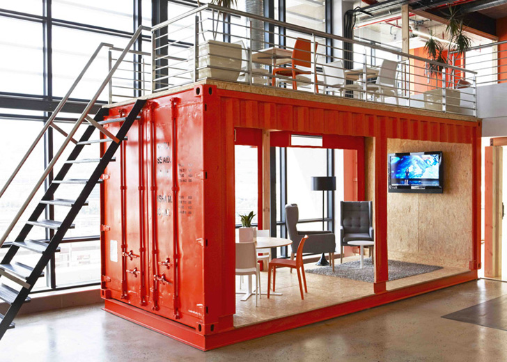 Inhouse Brands Converted A Shipping Container Into 99cs
