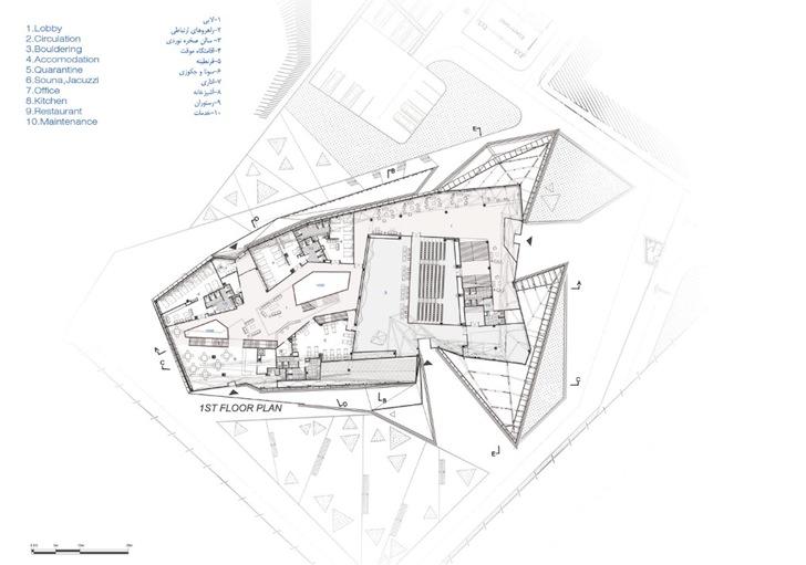 New Wave Architecture Polur Rock Climbing Hall « Inhabitat