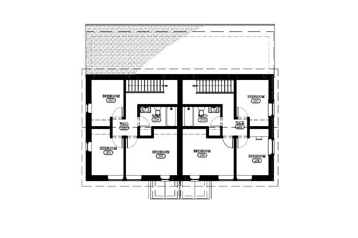 Columbia County Habitat Passive Duplex-BarlisWedlick