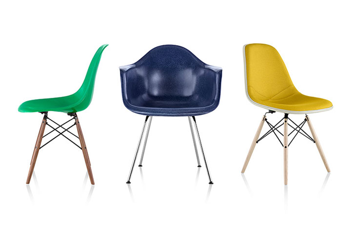fiberglass shell chair replacement foam for dining room chairs the iconic eames molded is now available in recyclable design