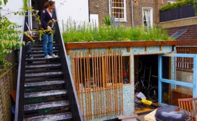 6 Brilliant Sheds Made From Recycled Materials Inhabitat