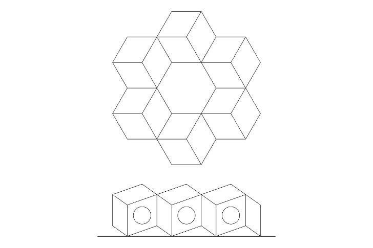 Tiny Polyhedral Noa Prefab is a Geometry Lover's Dream