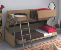 Crazy Transforming Sofa Goes from Couch to Adult-Size Bunk ...