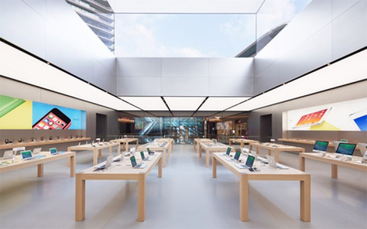 Foster Partners Apple Store Inhabitat Green Design