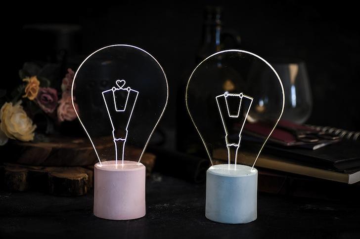 SturlesiDesigns iLLuminite Acrylic Glass LED Lights