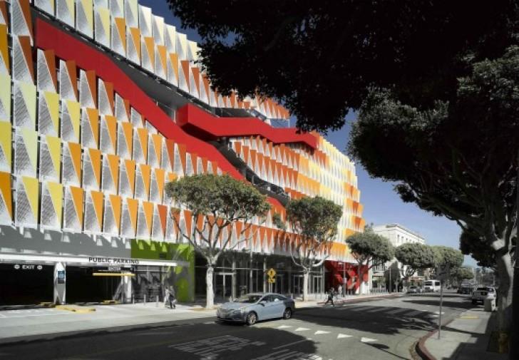 Behnisch Architekten Santa Monica Parking Structure 6