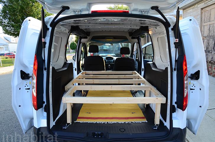 Ford Van Converted into Mobile Bedouin Tent  Inhabitat