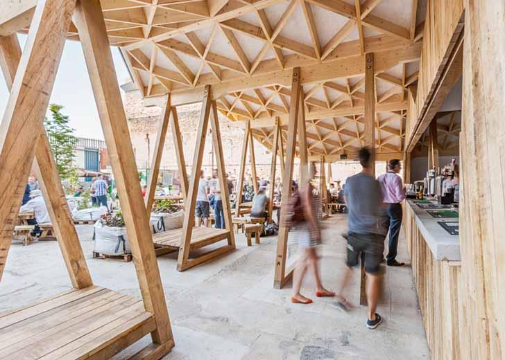 Zig Zagging Constellations Bar Rocks Urban Rehabilitation