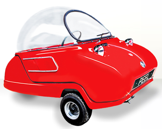 The Peel P50 Is The Worlds Smallest And Cutest Electric Car Inhabitat Green Design