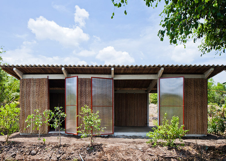 Vo Trong Nghia Architects Unveils Lovely Low Cost Housing Made
