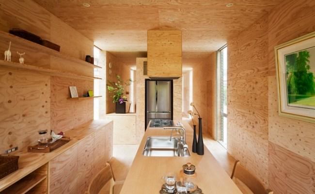 Cantilevered Cedar Clad Japanese House Lets Trees Grow