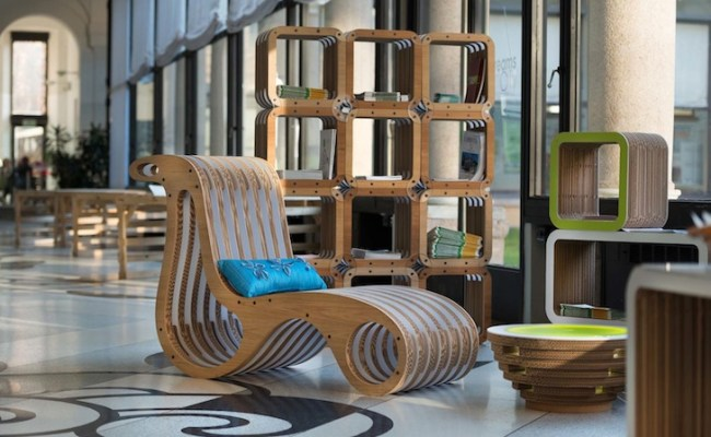 Lessmore Showcases Modern Eco Friendly Furniture Made Out