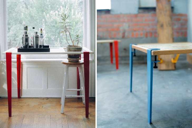Clever Floyd Legs Turn Any Surface into an Industrial