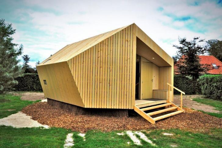 Trek In Hikers Cabin-Moodworks Architecture « Inhabitat