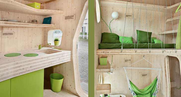 temgbom micro dorm  Inhabitat  Green Design Innovation
