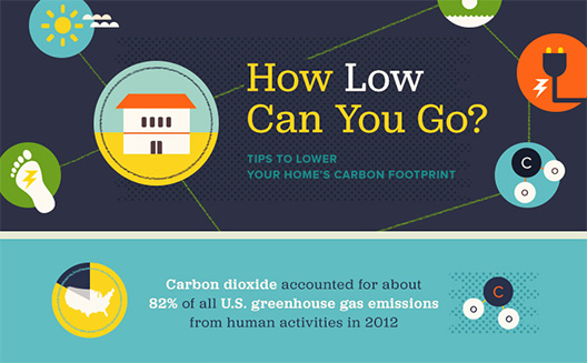 INFOGRAPHIC: Tips to lower your carbon footprint   Inhabitat - Green Design. Innovation. Architecture. Green Building