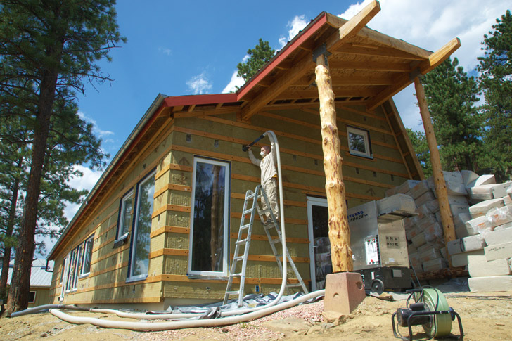 How to build a passive house offgrid without foam  Inhabitat  Green Design Innovation