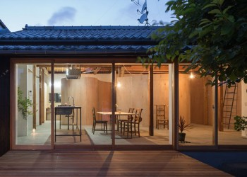 architecture architects japanese modern traditional open tato japan homes into interior exterior turned plywood inhabitat houses redesign curved congested marvel