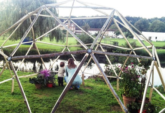 the hubs geodesic dome