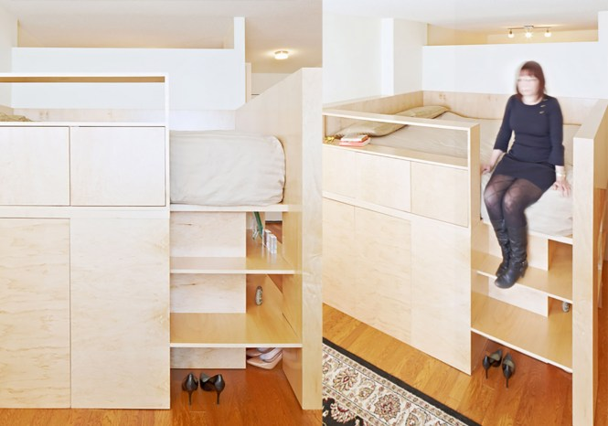 Jpda S Clever Furniture Piece Solves A Common Studio Apartment Layout Issue