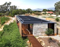 Industrial modern Sawmill House is built from recycled ...