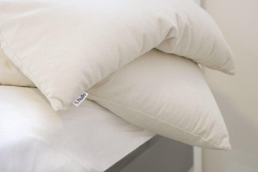 sleeping on a buckwheat pillow