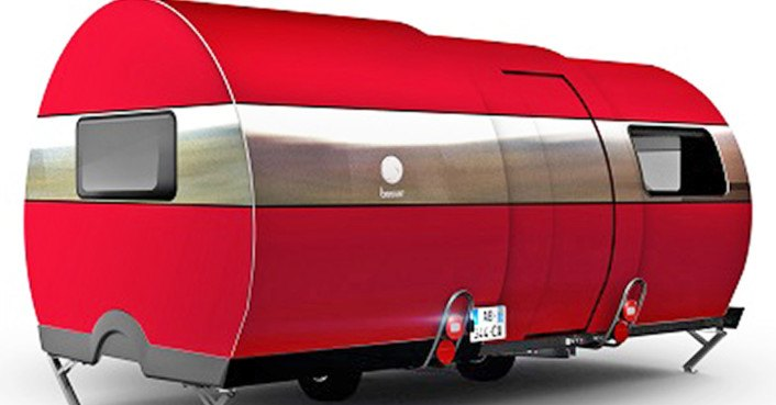 Beauer telescope camper expands to 3x its size  Inhabitat