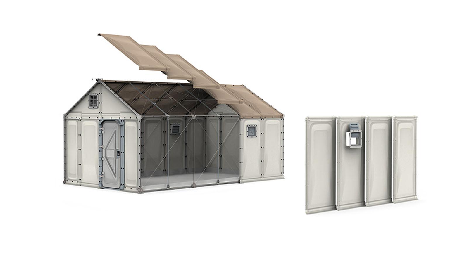 Temporary Housing Inhabitat Green Design Innovation