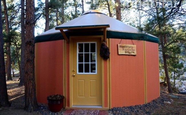 Freedom Yurt Cabins Tiny Round Homes Inhabitat Green