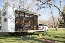 Tiny Towable Eco-home Helps Reconnect With Nature