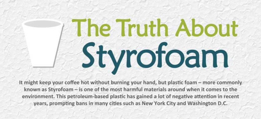 INFOGRAPHIC: The dangerous truth about Styrofoam