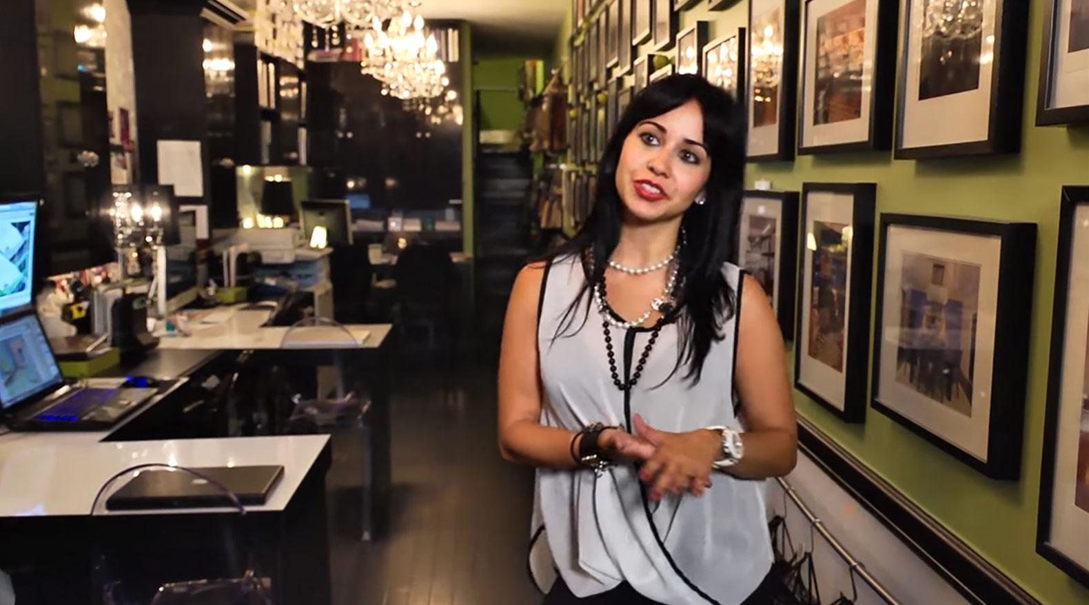 Designer Vanessa Deleon transforms a skinny alley into a