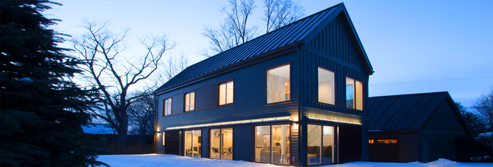 Blu Homes Net Zero Energy Prefab Farmhouse House