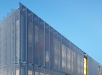 Leawood Speculative Office: perforated metal screens