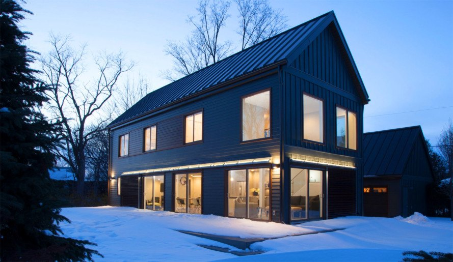 Tiny houses for each state for Prefab modern farmhouse